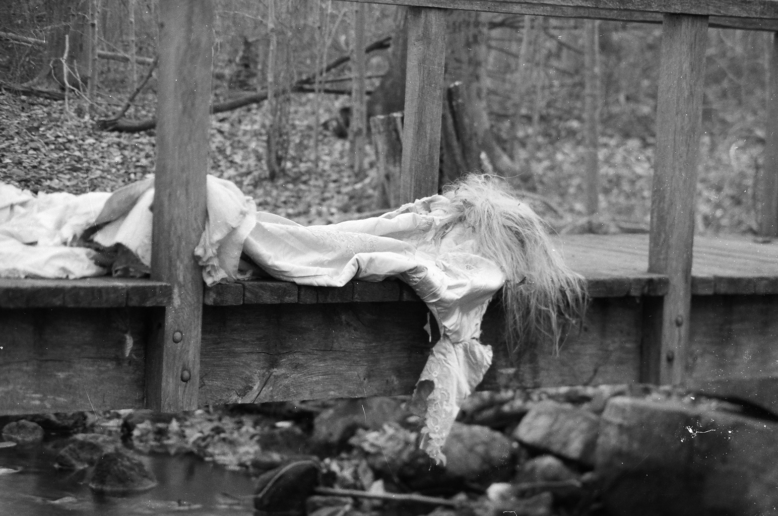 """La Parca on the Bridge,"" from ""Kundalni's Daughter: Critical Trilogy, Vol. I"